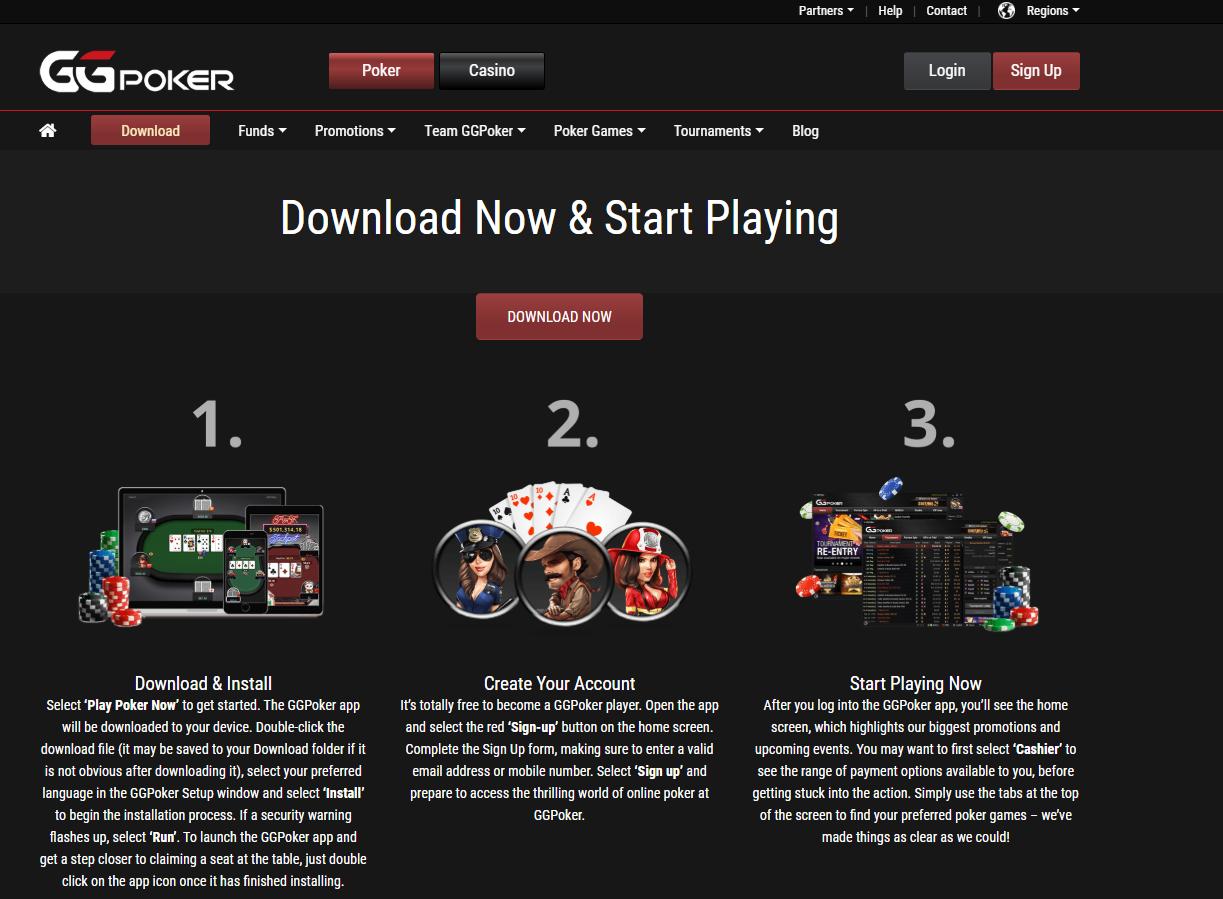 ggpoker download
